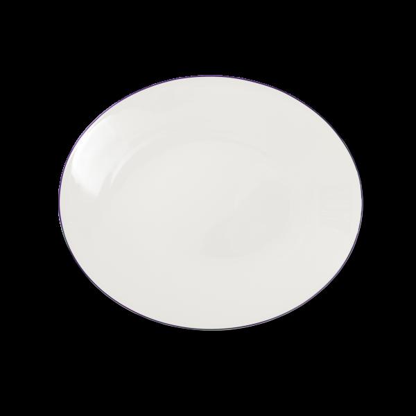 Ovale Platte Violett (32cm)