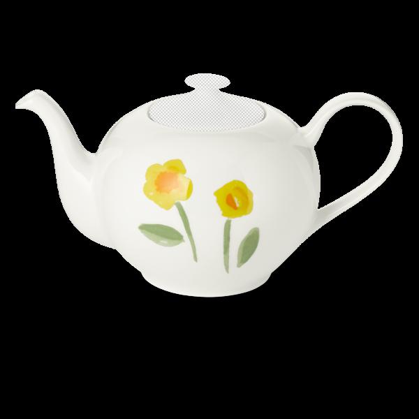 Teekanne unterteil 1,30 l gelb