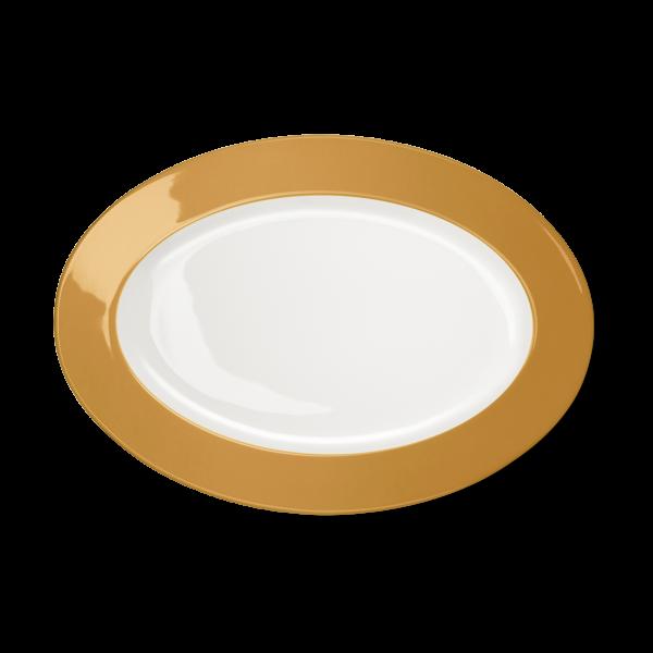 Oval Platter Amber (33cm)