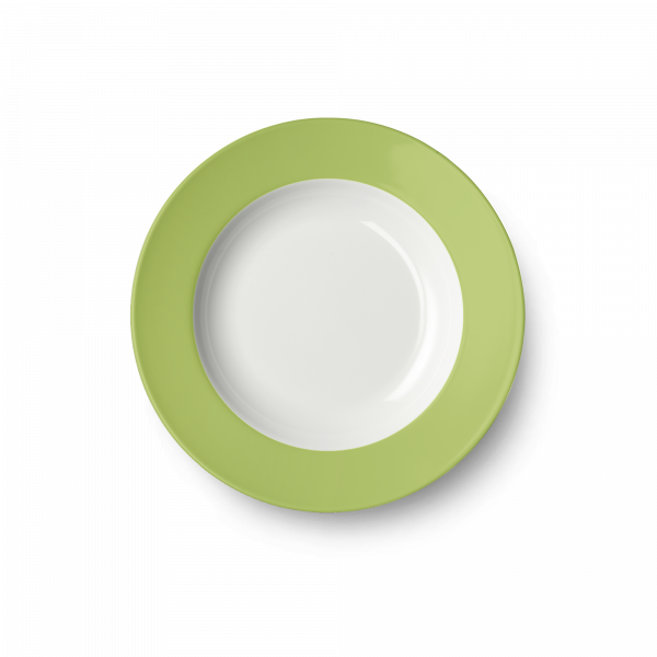Soup Plate Spring Green (23cm)