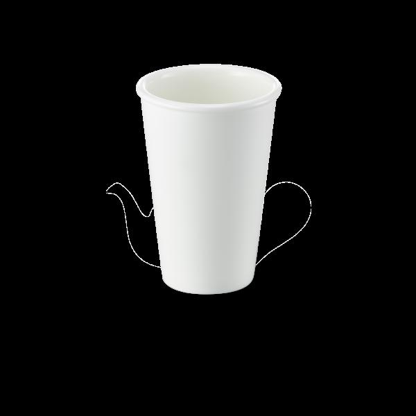 Becher Weiß (0,35l)