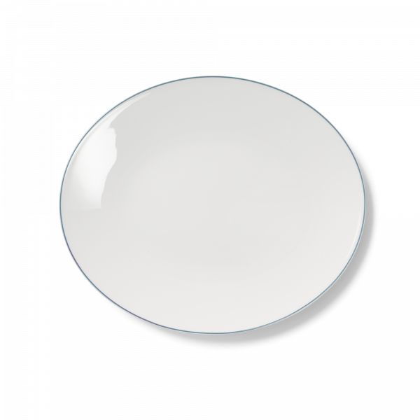 Ovale Platte Mint (32cm)