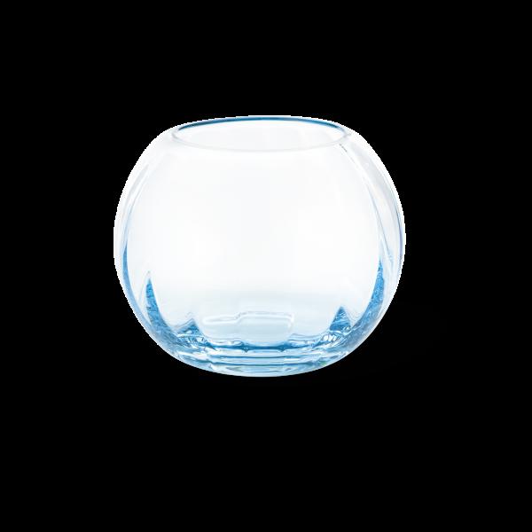 Windlicht 10,5 cm aqua