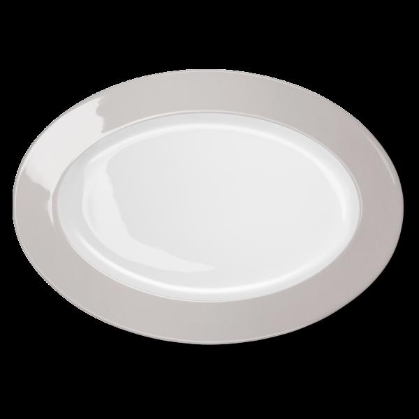 Ovale Platte Pearl (36cm)