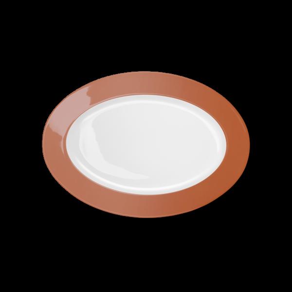 Oval Platter Papaye (29cm)