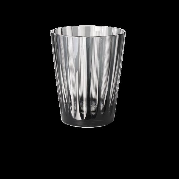 Glas 0,33 l grau stripes
