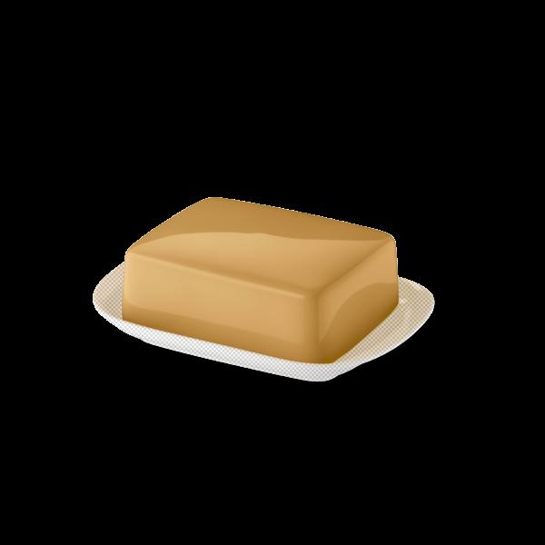 Butterdose Oberteil Bernstein