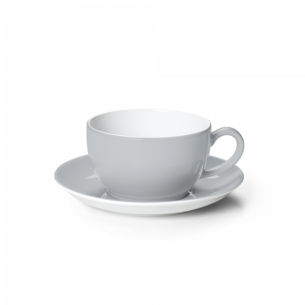 Set Cappuccinotasse Lichtgrau (0,3l)