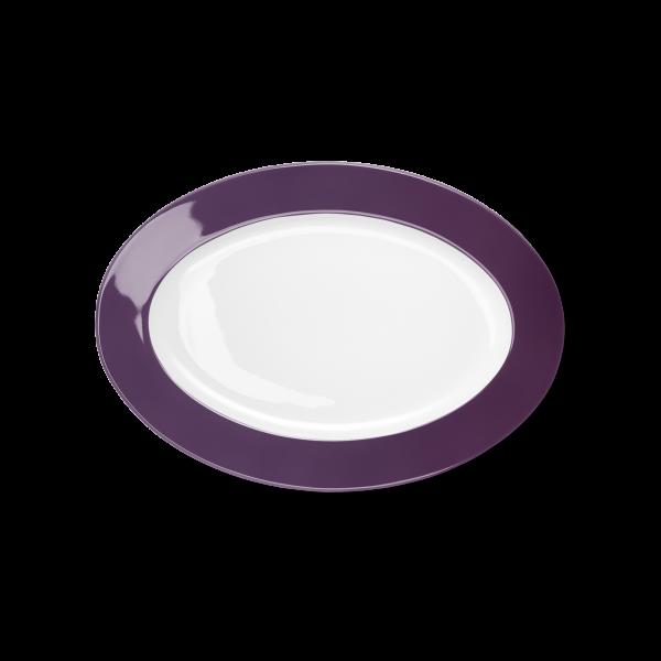 Ovale Platte Pflaume (29cm)