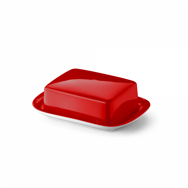 Butter dish Bright Red