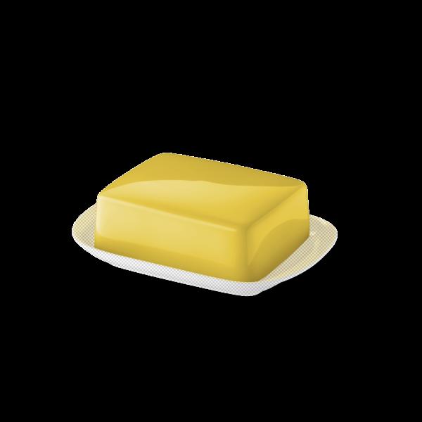 Butterdose Oberteil Sonnengelb