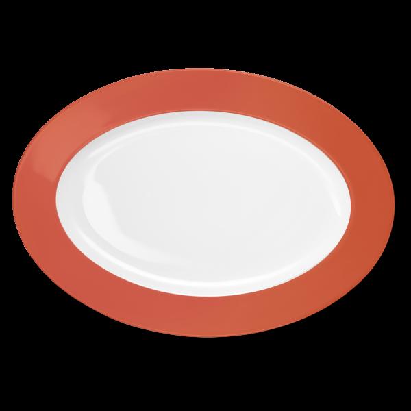 Oval Platter Brick (36cm)