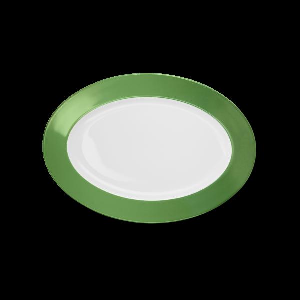 Ovale Platte Apfelgrün (29cm)