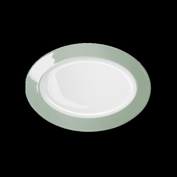 Ovale Platte Salbei (29cm)
