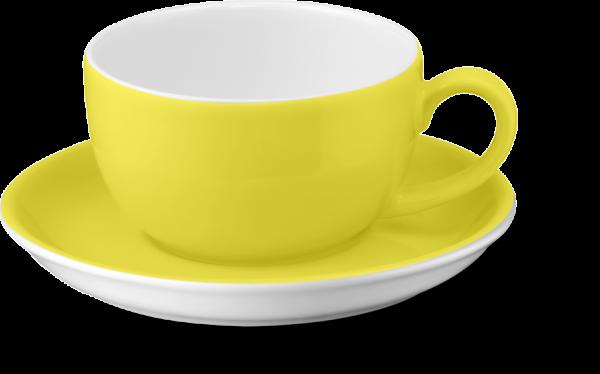2-tlg. Set Espressotasse 0,10l zitrone
