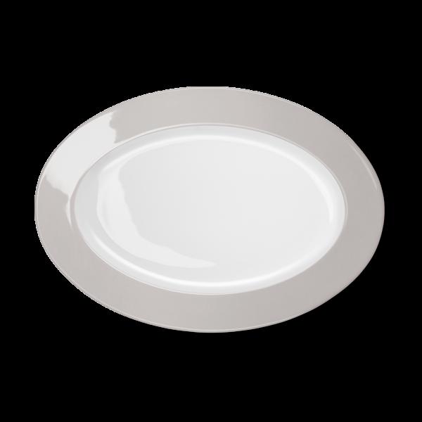 Ovale Platte Pearl (33cm)