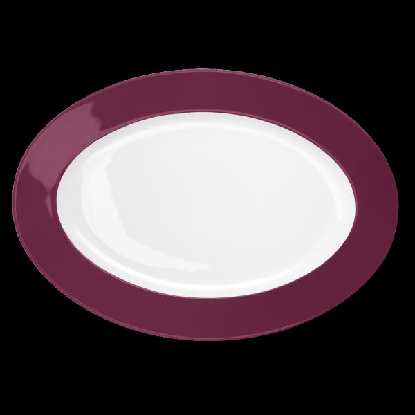 Oval Platter Bordeaux (36cm)