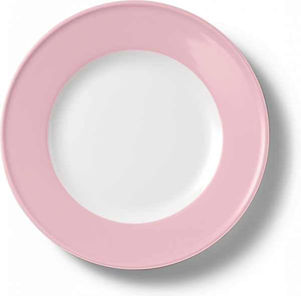 Dessertteller Zartrosa (19cm)