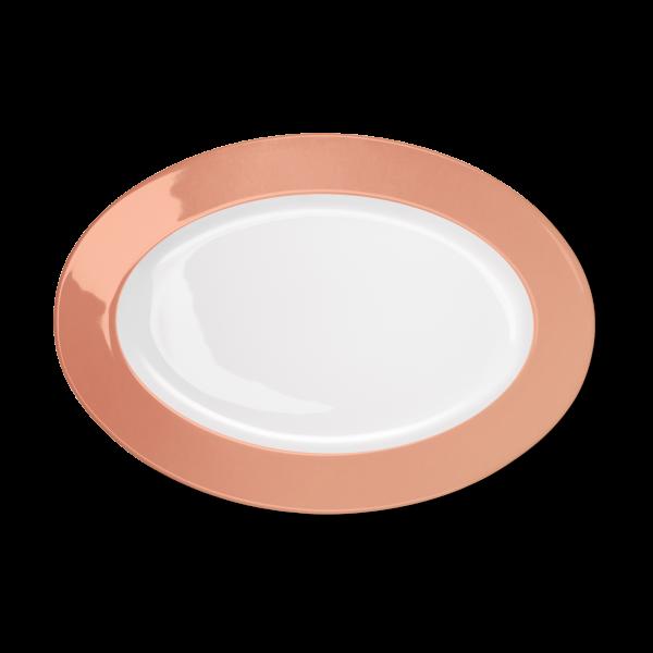 Ovale Platte Blush (33cm)