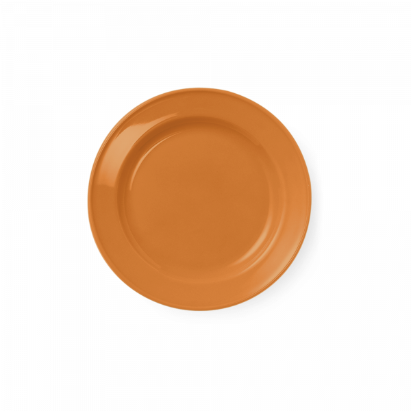 Dessertteller Volldekor Orange (19cm)