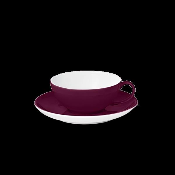 Set Tea cup Bordeaux (0,22l)