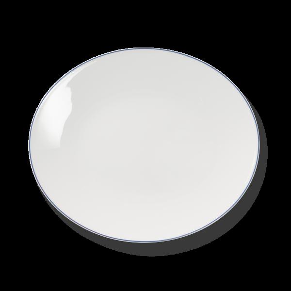 Ovale Platte Hellblau (39cm)