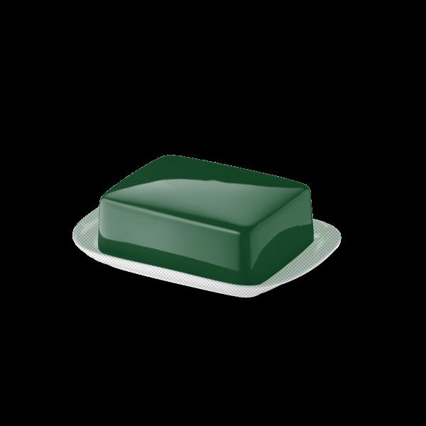 Butterdose Oberteil Tannengrün