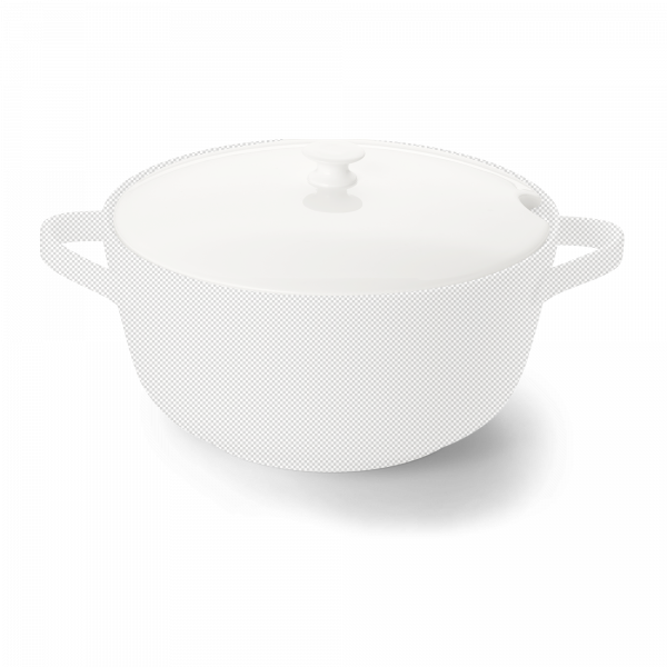 Lid of soup turreen 2,95l white
