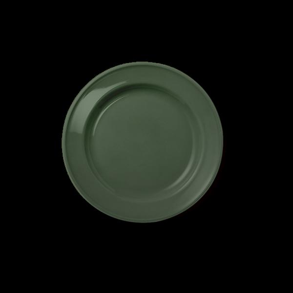 Dessert Plate full decor Dark Olive Green (19cm)