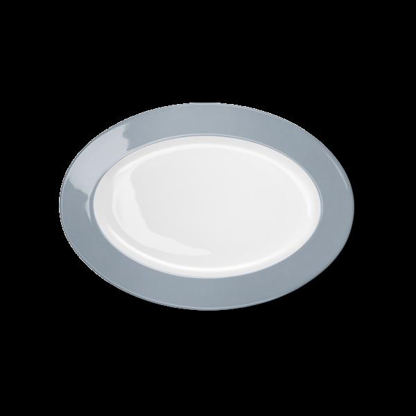 Oval Platter Grey (29cm)