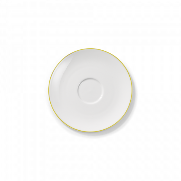 Kaffee Untertasse Gelb (16cm)