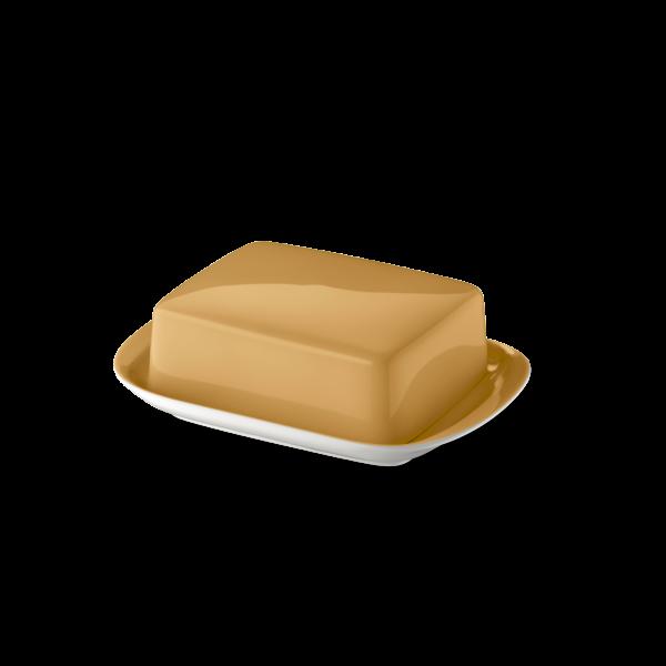 Butter dish Amber