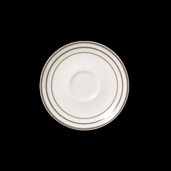 Cafe au lait Untertasse Anthrazit (16,2cm)