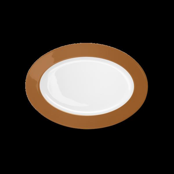 Ovale Platte Karamell (29cm)