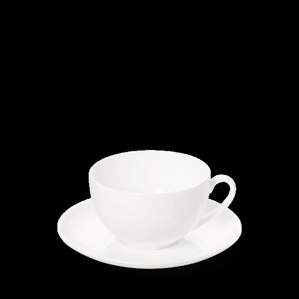 2-tlg. Set Kaffeetasse rund 0,25l weiss