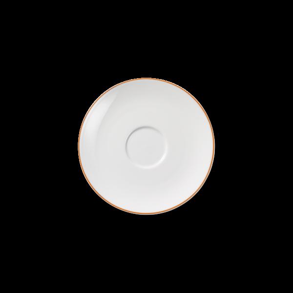 Kaffee Untertasse Orange (16cm)