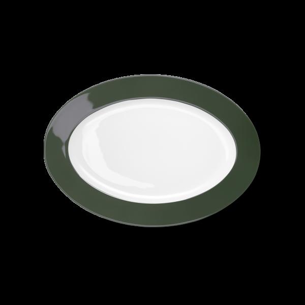 Ovale Platte Russischgrün (29cm)