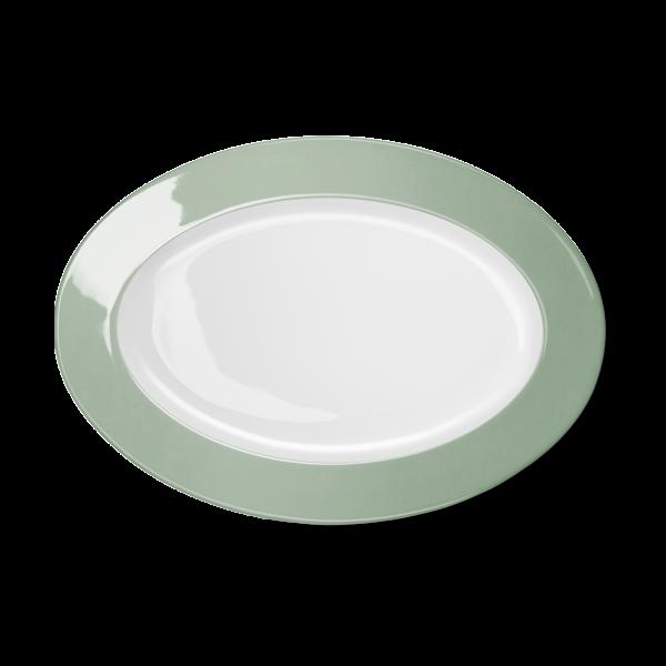 Oval Platter Sage (33cm)
