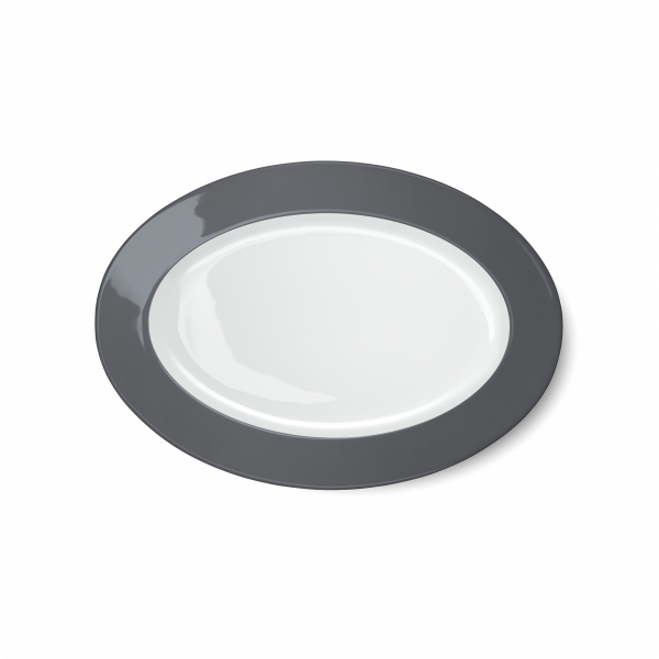 Oval Platter Anthracite (29cm)
