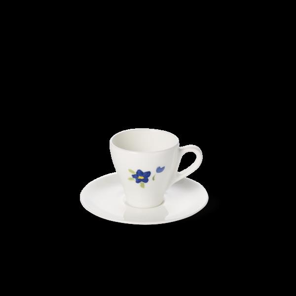 Set Espressotasse Blau (0,11l)
