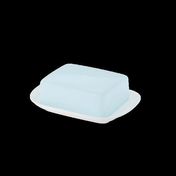 Butterdose Oberteil Eisblau
