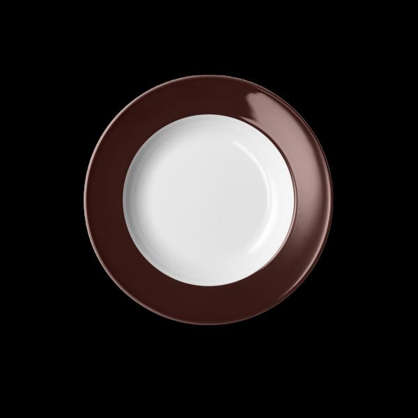Suppenteller Kaffeebraun (23cm)