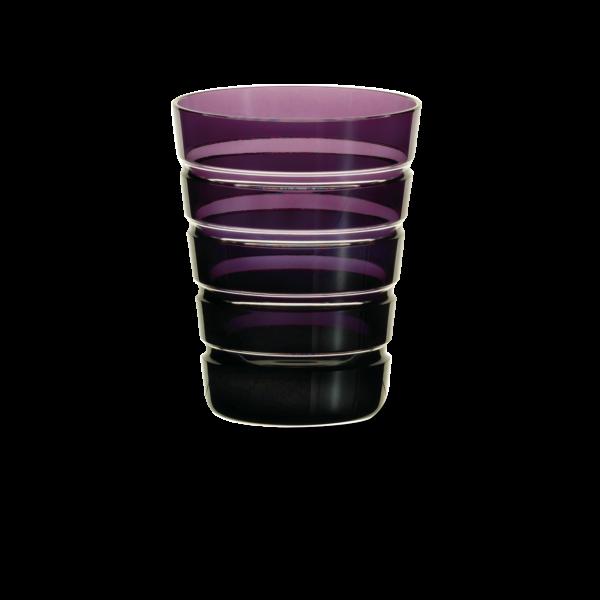 Glas 0,33 l lila horizontal