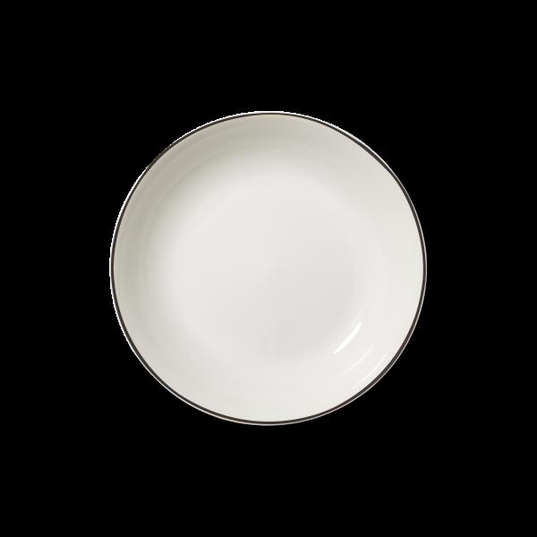Suppenteller Schwarz (22,5cm)