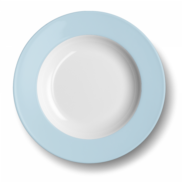 Pastateller Eisblau (31cm)