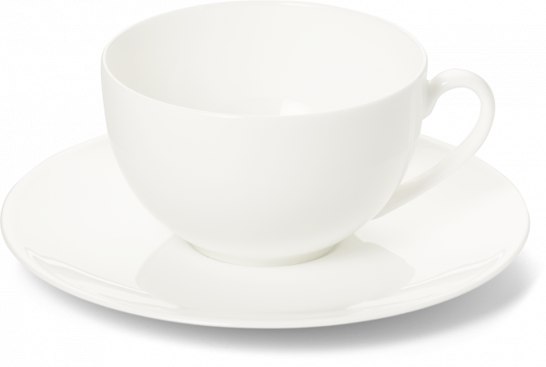 2-tlg. Set Kaffeetasse 0,25l weiss Untertasse pure