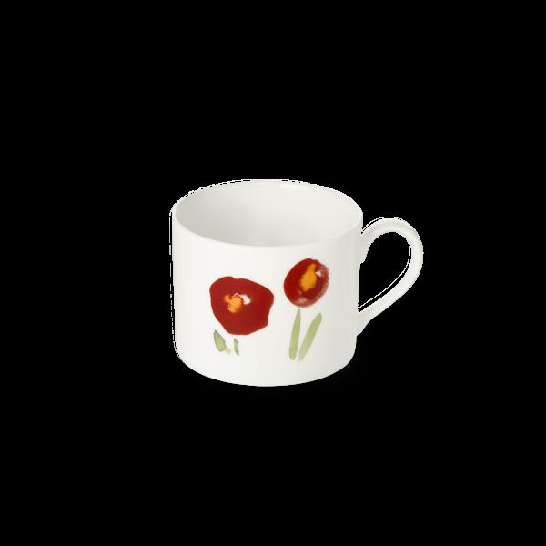 Kaffeetasse Zyl. Rot (0,25l)