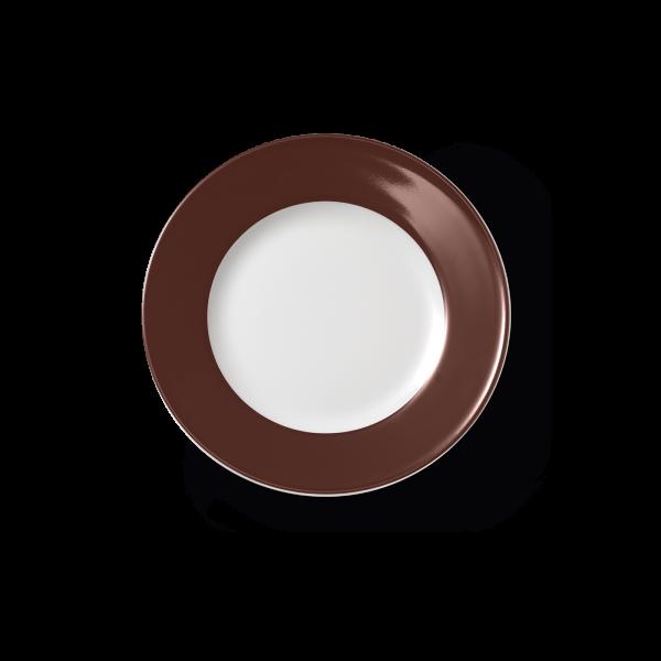 Dessertteller Kaffeebraun (19cm)