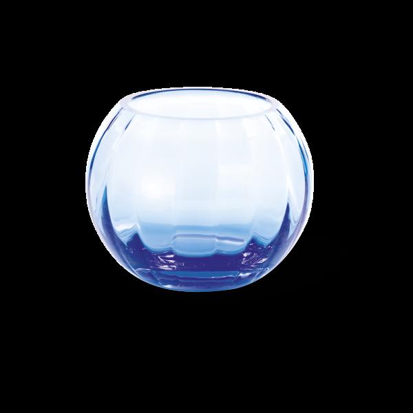 Windlicht 10,5 cm azurblau