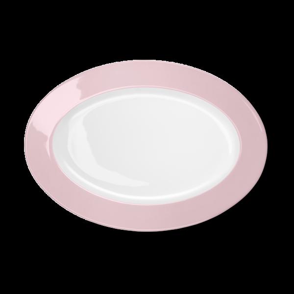 Oval Platter Pale Pink (33cm)